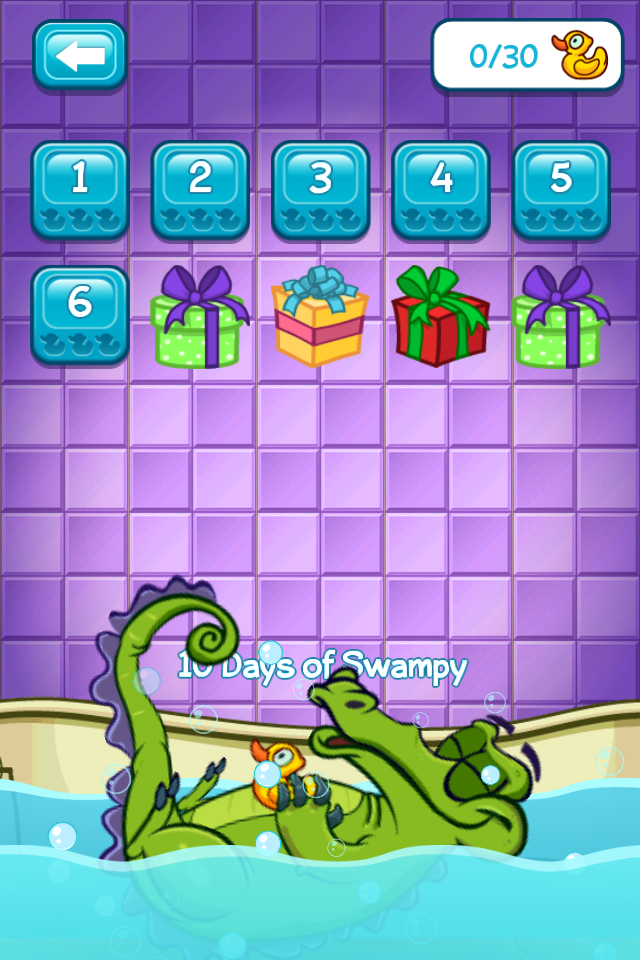 Review : Where's My Water? Free – 10 Days of Swampy   MobileMouse.net