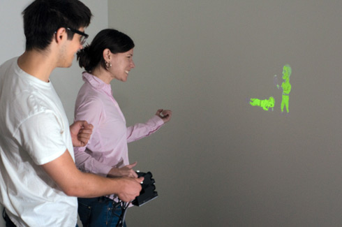 SideBySide - Handheld Projector from Disney Research